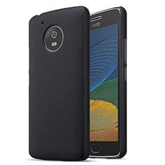 Coque Plastique Rigide Mat pour Motorola Moto G5 Noir