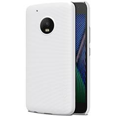 Coque Plastique Rigide Mat pour Motorola Moto G5 Plus Blanc