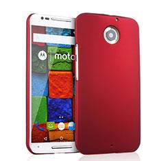 Coque Plastique Rigide Mat pour Motorola Moto X (2nd Gen) Rouge