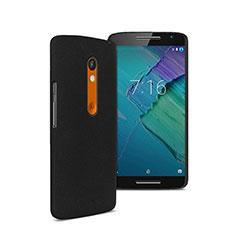 Coque Plastique Rigide Mat pour Motorola Moto X Play Noir