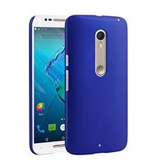 Coque Plastique Rigide Mat pour Motorola Moto X Style Bleu