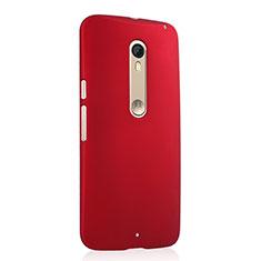 Coque Plastique Rigide Mat pour Motorola Moto X Style Rouge