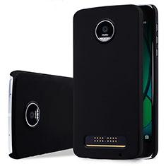 Coque Plastique Rigide Mat pour Motorola Moto Z Play Noir