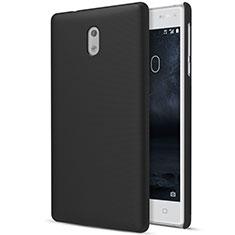 Coque Plastique Rigide Mat pour Nokia 3 Noir