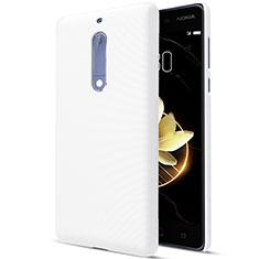 Coque Plastique Rigide Mat pour Nokia 5 Blanc