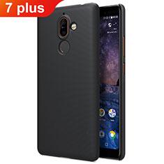 Coque Plastique Rigide Mat pour Nokia 7 Plus Noir