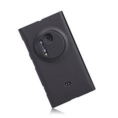 Coque Plastique Rigide Mat pour Nokia Lumia 1020 Noir