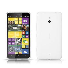 Coque Plastique Rigide Mat pour Nokia Lumia 1320 Blanc