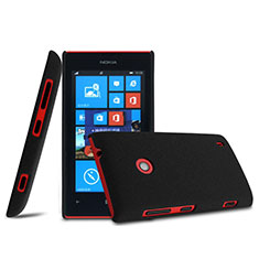 Coque Plastique Rigide Mat pour Nokia Lumia 525 Noir