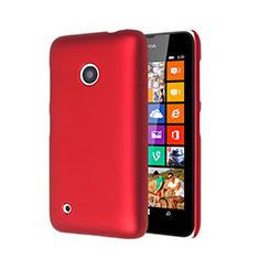 Coque Plastique Rigide Mat pour Nokia Lumia 530 Rouge