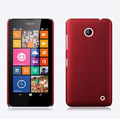 Coque Plastique Rigide Mat pour Nokia Lumia 630 Rouge