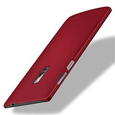 Coque Plastique Rigide Mat pour OnePlus 2 Rouge