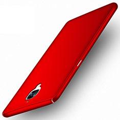 Coque Plastique Rigide Mat pour OnePlus 3 Rouge
