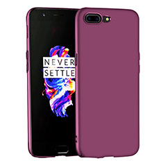 Coque Plastique Rigide Mat pour OnePlus 5 Violet