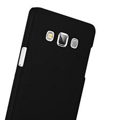Coque Plastique Rigide Mat pour Samsung Galaxy A3 Duos SM-A300F Noir