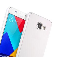 Coque Plastique Rigide Mat pour Samsung Galaxy A5 (2016) SM-A510F Blanc