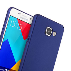 Coque Plastique Rigide Mat pour Samsung Galaxy A5 (2016) SM-A510F Bleu