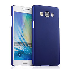 Coque Plastique Rigide Mat pour Samsung Galaxy A5 Duos SM-500F Bleu