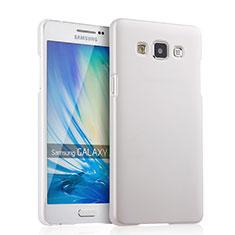 Coque Plastique Rigide Mat pour Samsung Galaxy A5 SM-500F Blanc