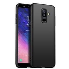 Coque Plastique Rigide Mat pour Samsung Galaxy A6 Plus Noir