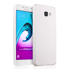 Coque Plastique Rigide Mat pour Samsung Galaxy A7 (2016) A7100 Blanc