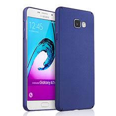 Coque Plastique Rigide Mat pour Samsung Galaxy A7 (2016) A7100 Bleu
