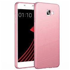 Coque Plastique Rigide Mat pour Samsung Galaxy A7 (2017) A720F Or Rose