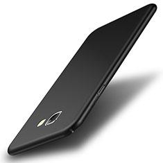 Coque Plastique Rigide Mat pour Samsung Galaxy A8 (2016) A8100 A810F Noir