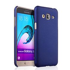Coque Plastique Rigide Mat pour Samsung Galaxy Amp Prime J320P J320M Bleu