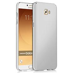 Coque Plastique Rigide Mat pour Samsung Galaxy C9 Pro C9000 Blanc