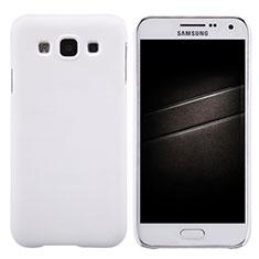 Coque Plastique Rigide Mat pour Samsung Galaxy E5 SM-E500F E500H Blanc