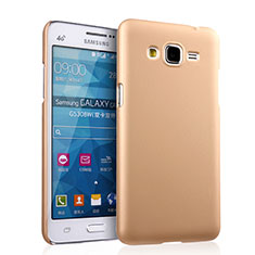 Coque Plastique Rigide Mat pour Samsung Galaxy Grand Prime 4G G531F Duos TV Or