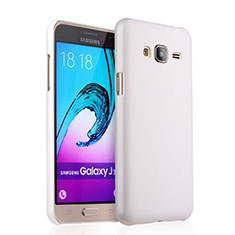 Coque Plastique Rigide Mat pour Samsung Galaxy J3 (2016) J320F J3109 Blanc