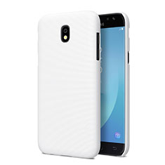 Coque Plastique Rigide Mat pour Samsung Galaxy J5 Pro (2017) J530Y Blanc
