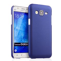 Coque Plastique Rigide Mat pour Samsung Galaxy J5 SM-J500F Bleu