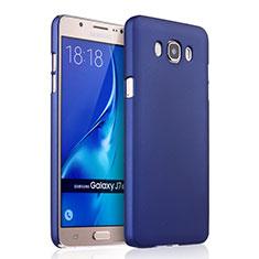 Coque Plastique Rigide Mat pour Samsung Galaxy J7 (2016) J710F J710FN Bleu