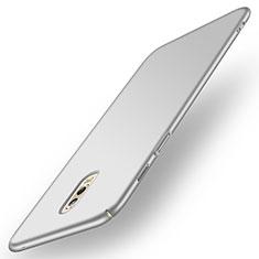 Coque Plastique Rigide Mat pour Samsung Galaxy J7 Plus Argent