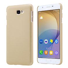Coque Plastique Rigide Mat pour Samsung Galaxy J7 Prime Or