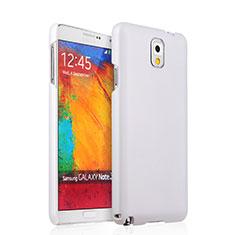 Coque Plastique Rigide Mat pour Samsung Galaxy Note 3 N9000 Blanc