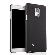 Coque Plastique Rigide Mat pour Samsung Galaxy Note 4 SM-N910F Noir
