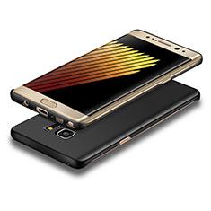 Coque Plastique Rigide Mat pour Samsung Galaxy Note 7 Noir