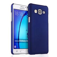 Coque Plastique Rigide Mat pour Samsung Galaxy On5 Pro Bleu