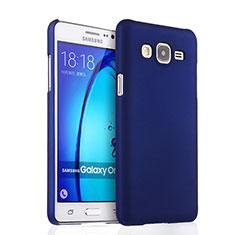 Coque Plastique Rigide Mat pour Samsung Galaxy On7 G600FY Bleu