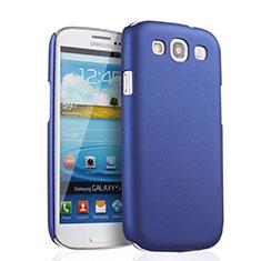Coque Plastique Rigide Mat pour Samsung Galaxy S3 III LTE 4G Bleu