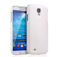 Coque Plastique Rigide Mat pour Samsung Galaxy S4 i9500 i9505 Blanc