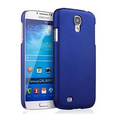 Coque Plastique Rigide Mat pour Samsung Galaxy S4 IV Advance i9500 Bleu