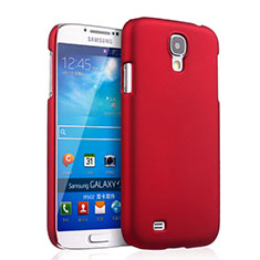 Coque Plastique Rigide Mat pour Samsung Galaxy S4 IV Advance i9500 Rouge