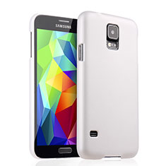 Coque Plastique Rigide Mat pour Samsung Galaxy S5 G900F G903F Blanc