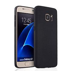 Coque Plastique Rigide Mat pour Samsung Galaxy S7 G930F G930FD Noir