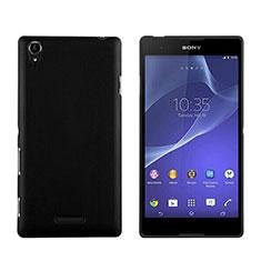 Coque Plastique Rigide Mat pour Sony Xperia T3 Noir